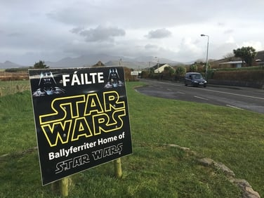 Féile Star Wars i mBaile an Fheirtéaraigh don ndeireadh seachtaine