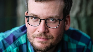 John Green, born August 1977, Indianapolis. The American author's Young Adult novel is soon to be a movie bound to do big business.