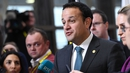"Mr Varadkar said: ""There won't be a hard border, no physical infrastructure, no checks and no controls"""