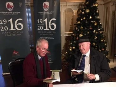 Treoirleabhar faoi Éirí Amach 1916 seolta sa Ghort i gContae na Gaillimhe