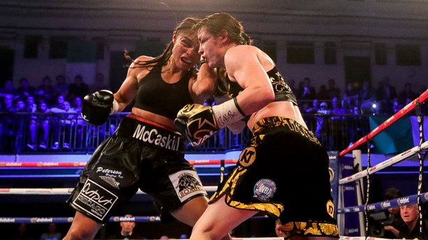 Katie Taylor dominates Victoria Bustos to become unified world champion