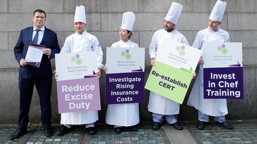 Adrian Cummins, CEO of the Restaurants Association of Ireland, wants more training for the industry