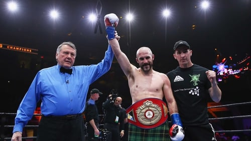 Gary 'Spike' O'Sullivan faces another big night in his career