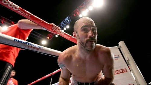 Spike O'Sullivan is in Las Vegas fighting on the undercard of GGG v Canelo