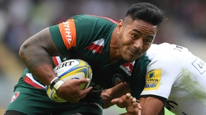 Manu Tuilagi provides a big boost for Leicester