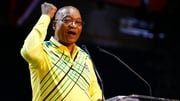 Jacob Zuma speaks during the ANC conference in Johannesburg, South Africa