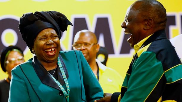 Ramaphosa and Dlamini-Zuma