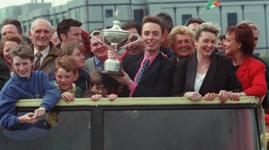 Ken Doherty's homecoming in Dublin after he won the World Championship in 1997