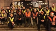 Valerie Mulcahy and the Gaelic Voices for Change group
