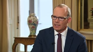 Simon Coveney was speaking on RTÉ's The Week In Politics