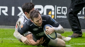 Elliot Daly scored two tries