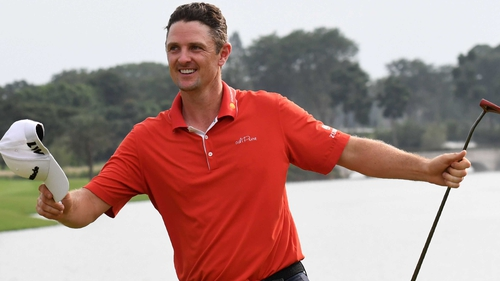 Justin Rose has had a superb year