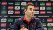 Munster head coach Johann Van Graan paid tribute his team after their 25-16 win at Welford Road