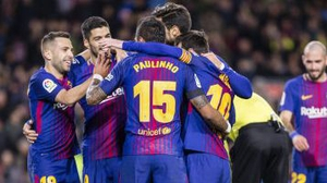 Barcelona hit Deportivo for four