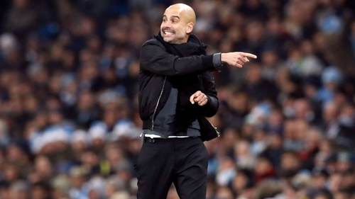 The club are highly impressed by Guardiola's performance this season