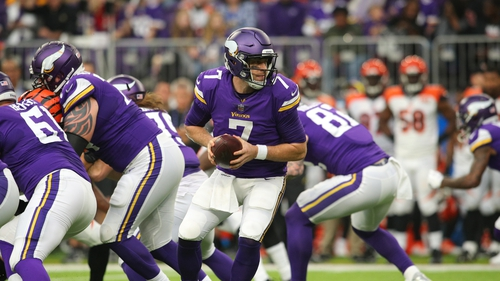 Case Keenum was central to Minnesota's victory