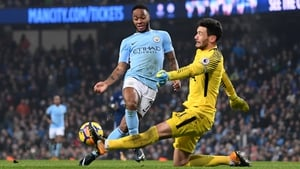 Sterling was on the scoresheet in the 4-1 victory over Tottenham Hotspur