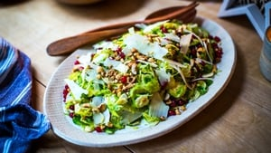 Donal's Shredded Brussels Sprout Salad