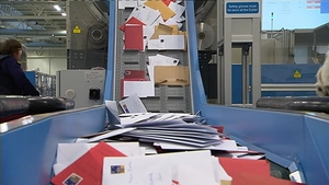 There will be later mail and parcel deliveries for some customers from today