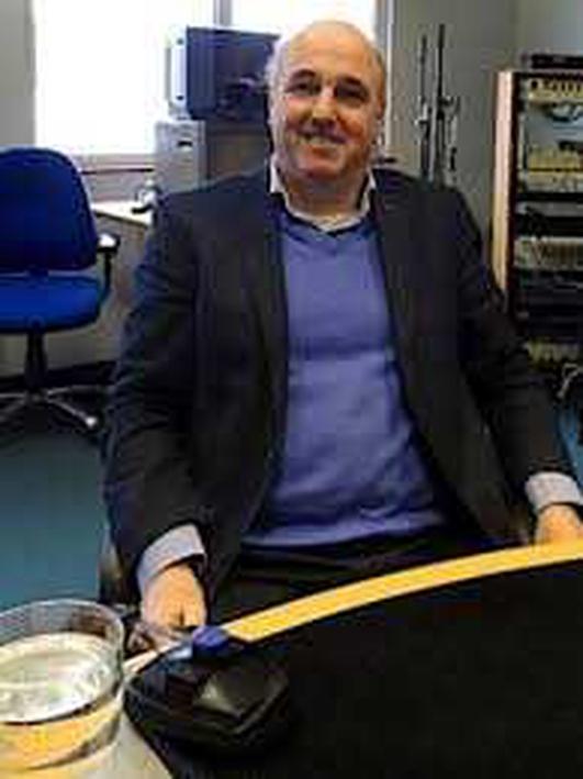 An Dr. Tony Delap.