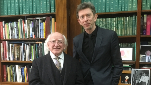 Mystery Train Sunday Service - President Michael D. Higgins