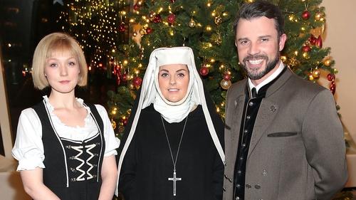 lucy obyrne celine byrne and neil mcdermott - The Christmas Choir Cast