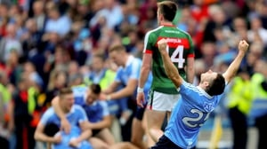 Dublin beat Mayo by a point in the 2016 and 2017 All-Ireland finals
