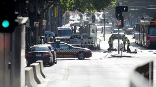 Car Drives Into A Crowd In Melbourne