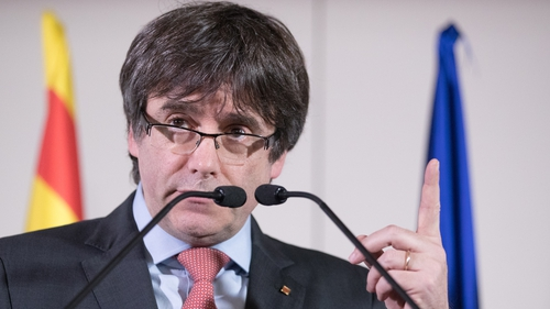 Country drops international arrest warrants for Puigdemont, other Catalans