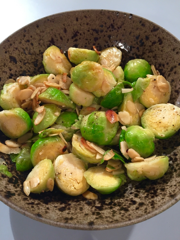 Kevin Dundon Christmas Brussel Sprouts