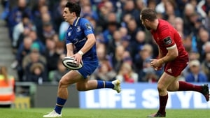 Joey Carbery and JJ Hanrahan, right, have both been linked with move to Ulster