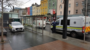Gardaíhave sealed off the area on the Grand Parade