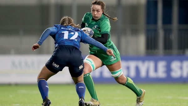 Connacht's Michelle Claffey is one of nine uncapped players included in the squad of 38 for the upcoming Six Nations