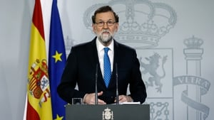 Speaking at a news conference, Mr Rajoy said he would make an effort to hold talks with the new Catalan government
