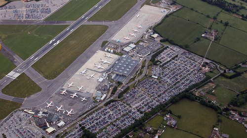 Flights halted at British airport after jet leaves runway