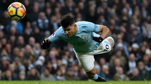Aguero became City's record goalscorer earlier this season