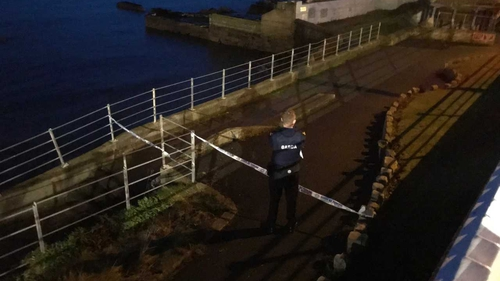 The alleged assault happened at the seafront in Dún Laoghaire on 23 December 2017