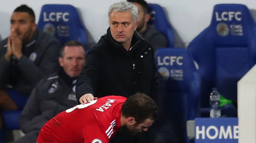 Mourinho has seen his team concede crucial late goals in the last two games