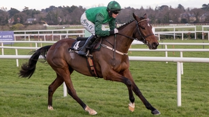 Footpad goes in the Poplar Square Chase at Naas