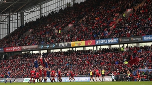 A pack Thomond Park is ready to welcome Toulon to Limerick