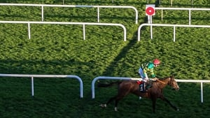 Anibale Fly goes in the Aintree Grand National