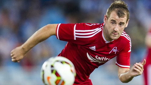 Niall McGinn is back with the Dons