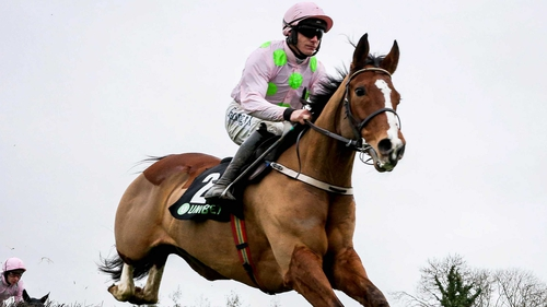 Faugheen eased to victory in the Novice Chase at Limerick.