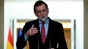 Mr Rajoy was speaking in his end-of-year address to the nation