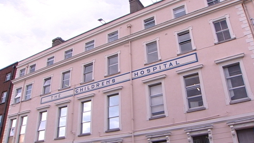 The girl was taken to Naas General Hospital and later transferred to Temple Street where she died today
