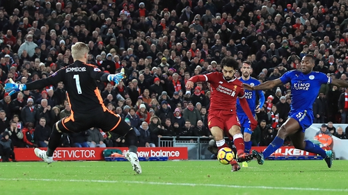 Salah has scored 17 league goals this season