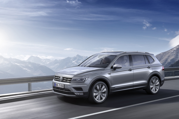 The Tiguan Allspace now offers seven-seats - a relative rarity on the Irish market.