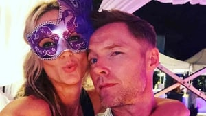 Storm and Ronan Keating celebrating New Year's Eve, image via Storm Keating/Instagram