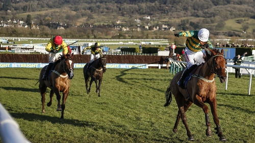 Barry Geraghty on Yanworth en route to winning the New Year's Day feature