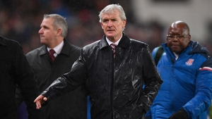 Mark Hughes' Stoke are now just two points above the drop zone